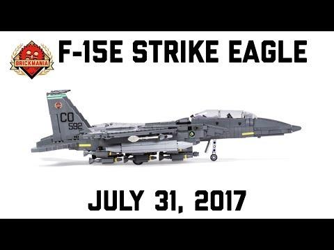 F-15E Strike Eagle - Custom Military Lego