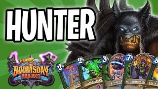 HUNTER Card REVIEW | The Boomsday Project | Hearthstone