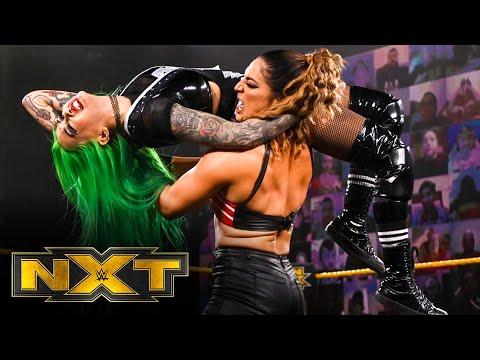 Shotzi Blackheart vs. Raquel González – WarGames Advantage Ladder Match: WWE NXT, Dec. 2, 2020