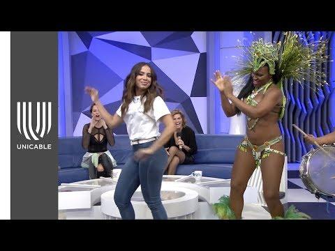 ¡Clases de samba con Anitta! | Montse & Joe | Unicable