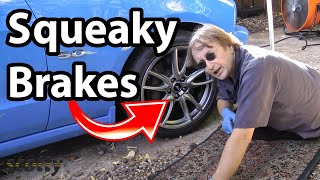 Fixing Squeaky Brakes On Your Car