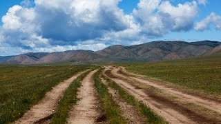 Пыль дорог. Азия 2012 г. Монголия Алтай Казахстан. 1 серия.