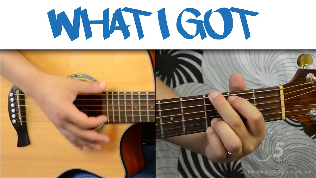 What I Got Sublime Easy 2 Chord Guitar Tutorial Youtube