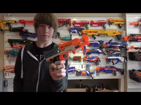 NERF Zombie Strike Clear Shot Unboxing and