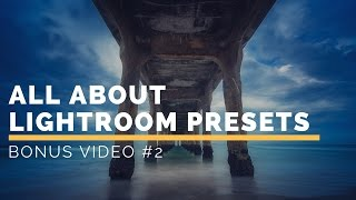 All About Lightroom Presets