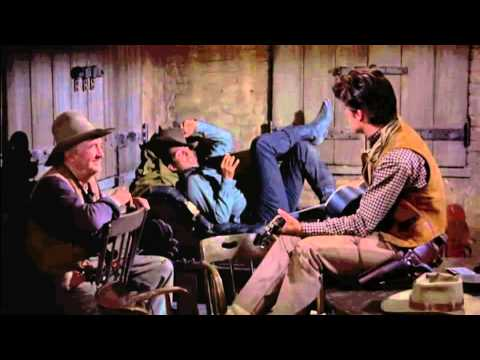 Rio Bravo, by Howard Hawks (1959) - Music in jail