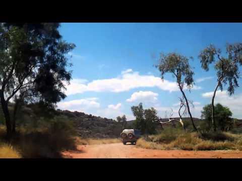 Video 294-Larapinta Drive - Palm Valley & back to Larapinta drive w/Photos