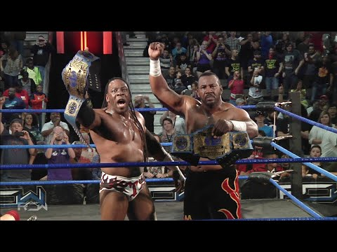 Booker T & Stevie Ray's last match as HARLEM HEAT (Full Match)