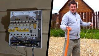 видео Ввод в дом электричества