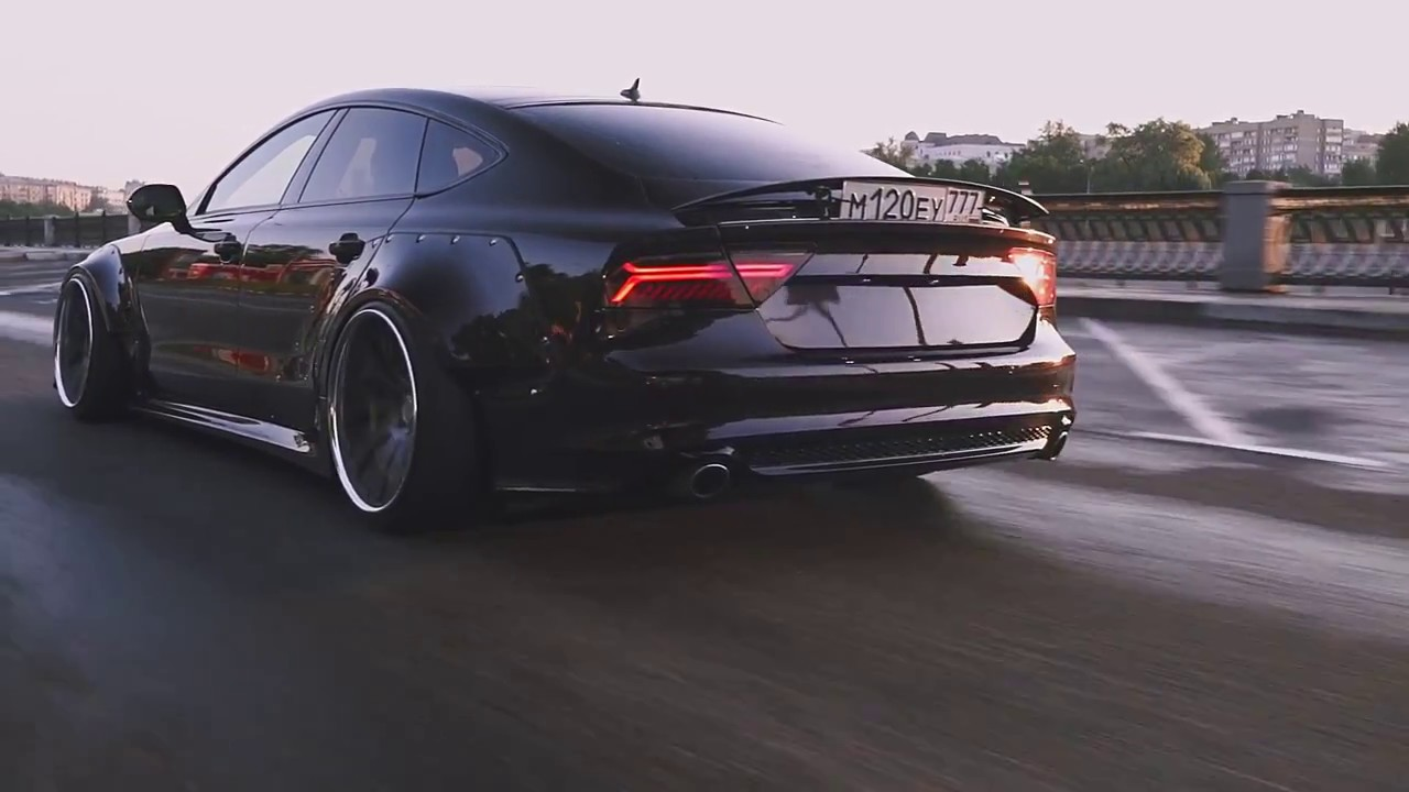 wide body stance audi a7 quotdevilfishquot youtube