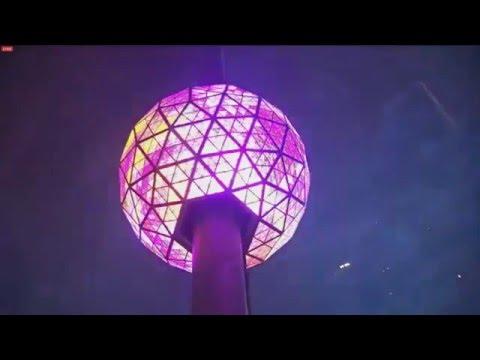 2016 Times Square Ball Drop NY