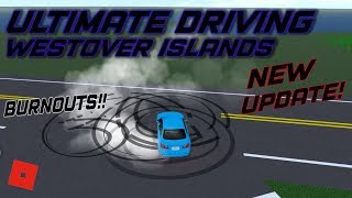 NEW UPDATE!!!! || ROBLOX - Ultimate Driving Westover Islands