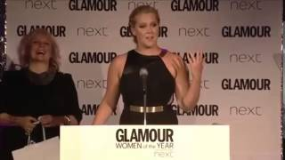 Video Amy Schumer's Hilarious Acceptance Speech At The GLAMOUR Awards 2015 download MP3, 3GP, MP4, WEBM, AVI, FLV Juli 2018