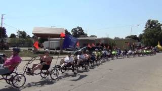 trike train national record of 27 trikes on 8-10-2013