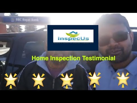 Home Inspection Testimonial in Edmonton