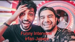 Irfan Junejo interview with VOICE OVER MAN latest 6 october 2018