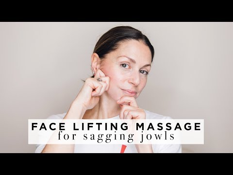 FACE LIFTING MASSAGE for Jowls & lower face ABIGAIL