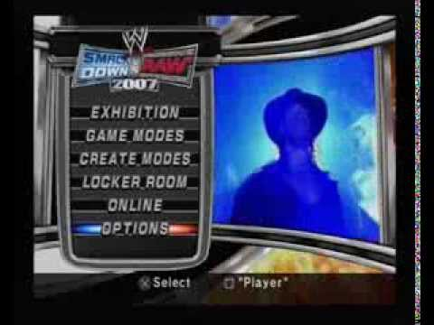WWE SVR 2007 Menu Music Full