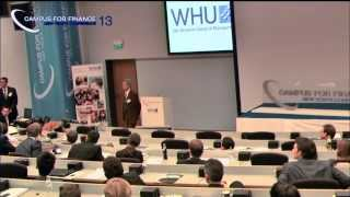 Prof. Takatoshi Ito at WHU Campus for Finance - New Year's Conference 2013
