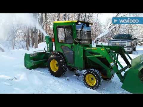 John Deere 4100, SB1164 Frontier Snowblower