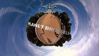 Planet Brussels - 360° Time lapse in 4k