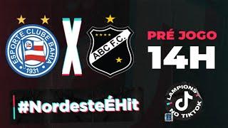 라이브 : Bahia x ABC | TikTok 방송 | 8 라운드 | 노스 이스트 컵 2021