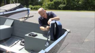 Diy  Installing Fishing Seats On Your Row, Jon Or Utility Fishing Boat.