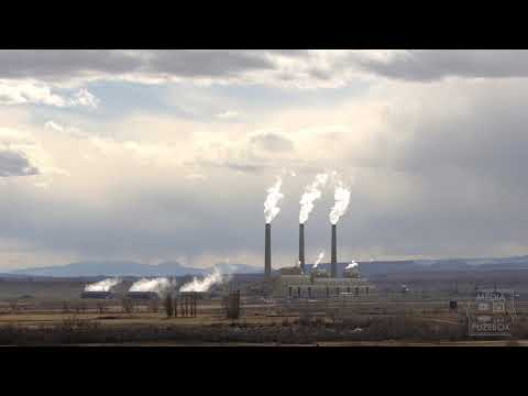 PacifiCorp Hunter Power Plant In Castle Dale Utah