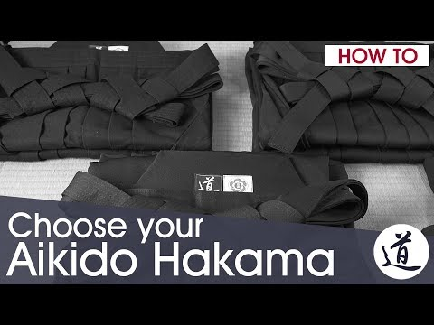 How To Choose Your Aikido Hakama - Training Vs Tradition Hakama | W/Subtitles