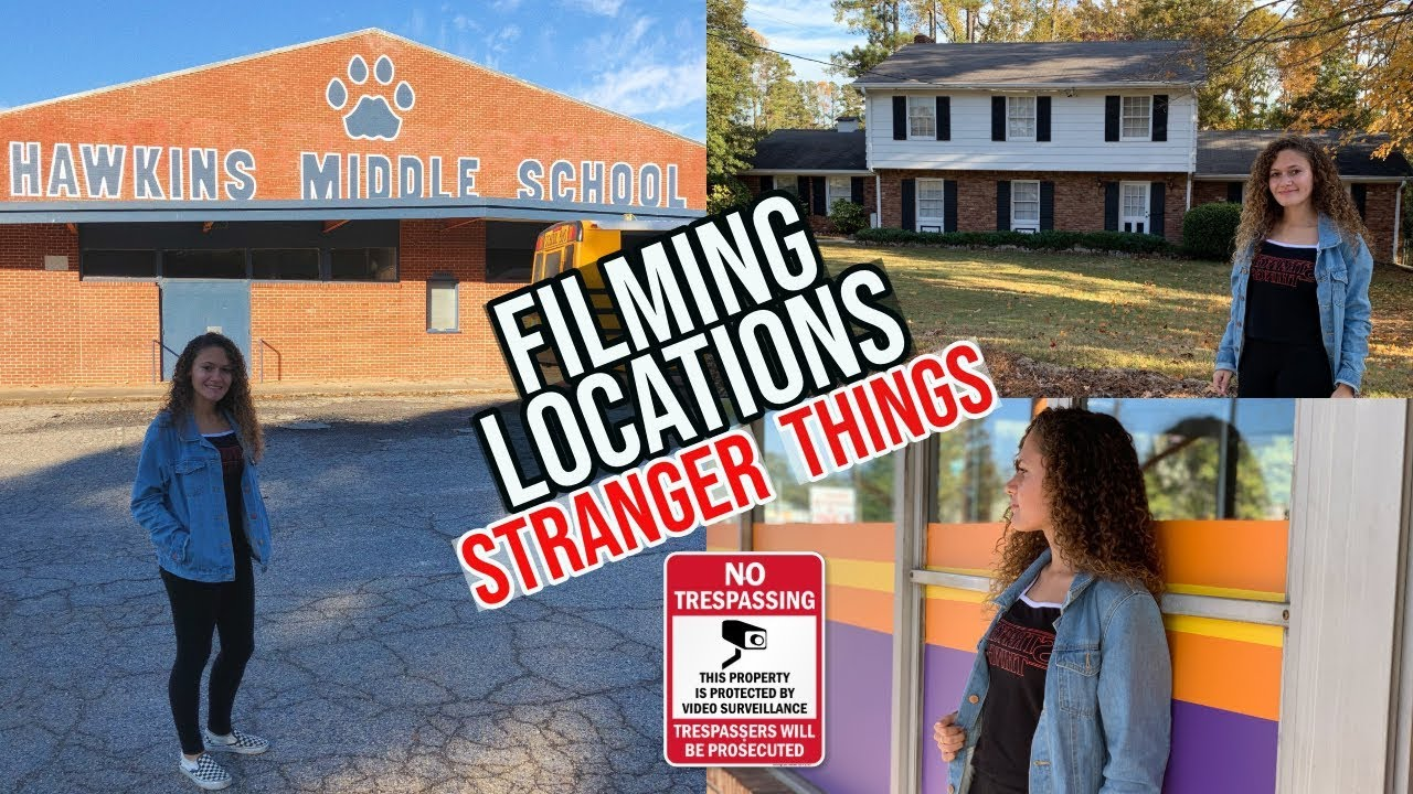 Download Stranger Things Filming Locations! (Seasons 1, 2 and 3 Starcourt Mall)