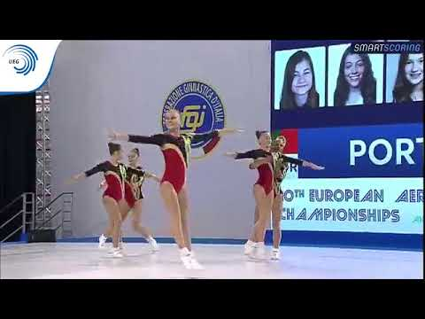Portugal - 2017 Aerobics Europeans, junior group final