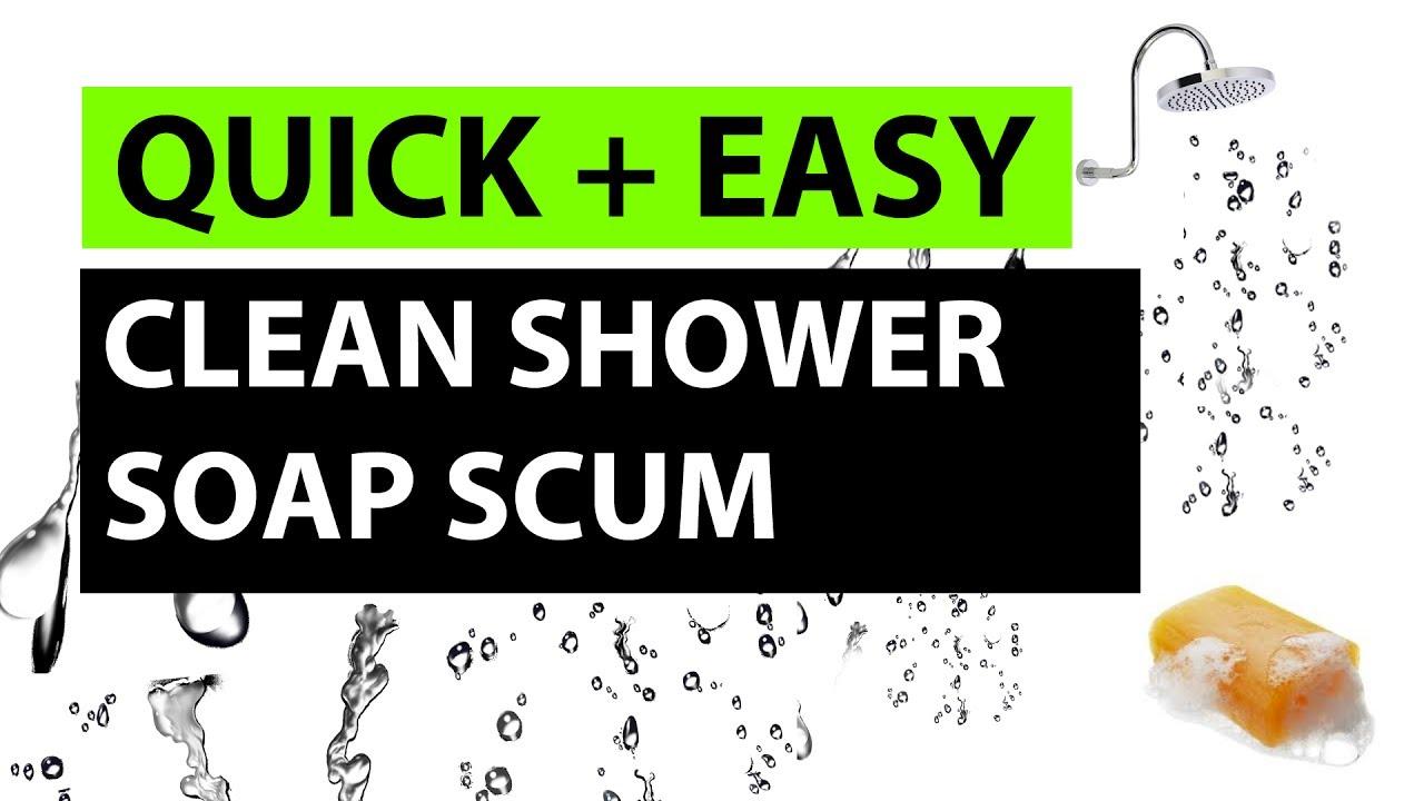 Best Way To Clean A Glass Shower Door Youtube