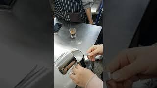커피 바리스타 우유 거품 카페 마끼야또 머신 그라인더 …