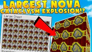 THE LARGEST NOVA CATACLYSM EXPLOSION IN MINECRAFT? | $1,000,000,000 BILLION DOLLAR MOD PACK #3