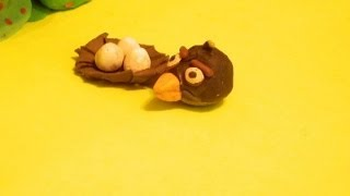 Angry Birds Clay Animation Bomb,help!