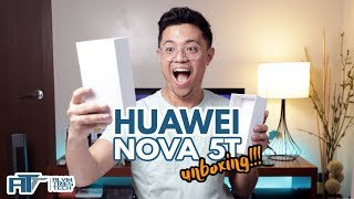 Huawei Nova 5T Unboxing and First Impressions! Ang bagong phone ko!