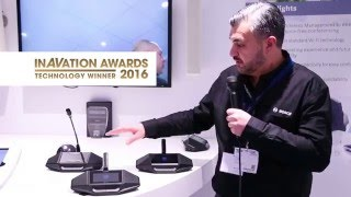 Bosch Security DICENTIS Wireless Conference System - Integrated Systems Europe Amsterdam 2016
