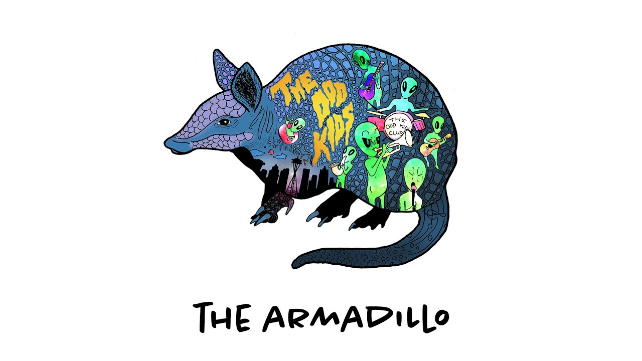 The Armadillo /// The Odd Kids (official lyric video)