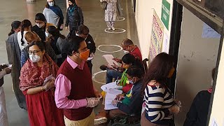 Noida: Teachers, graduates cast their votes for graduate and teachers constituency polls