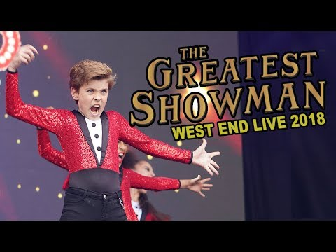 THE GREATEST SHOWMAN at West End LIVE 2018   with the West End Gospel Choir & Spirit YPC