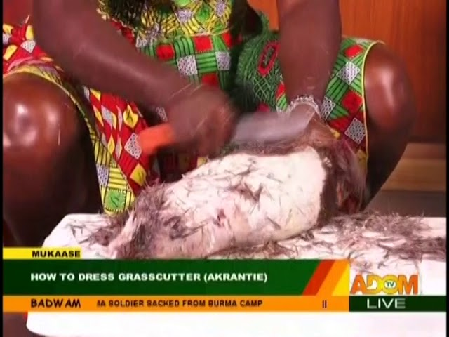 "How To Dress ""Akrantie"" - Badwam Mukase on Adom TV (19-10-18)"