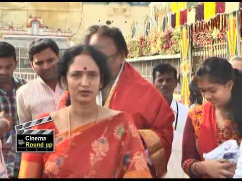 Krishnam Raju Family Visit Tirumala | Daughters |  Cinema Roundup