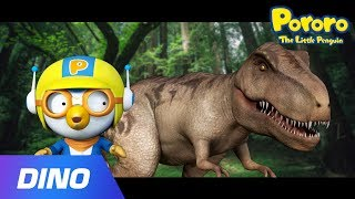 Pororo and Giant T-Rex Dinosaur | Tyrannosaurus Song | Dinosaur Songs | Pororo Dino World