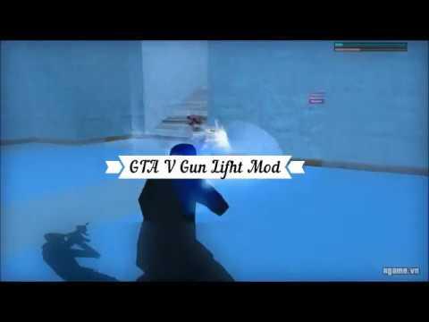 GTA SA : Gun Light GTA V Mod