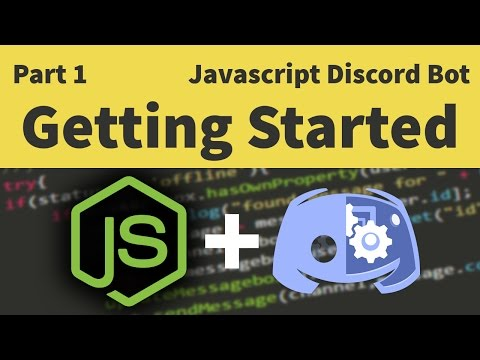 Code a Javascript Discord Bot: Part 1 - Getting Set Up