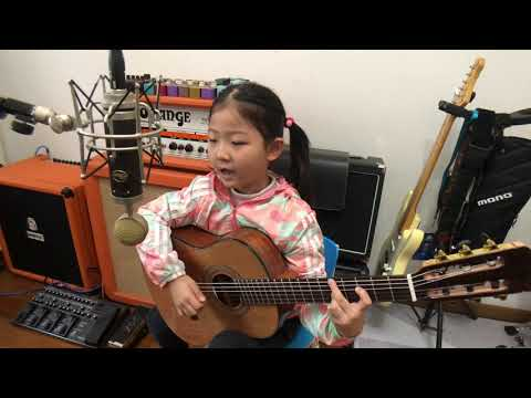 [ I Wish You Love ]  By A Girl Six Years Old 来自南京的Miumiu 记录音乐成长脚步 INS @miumiuguitargril