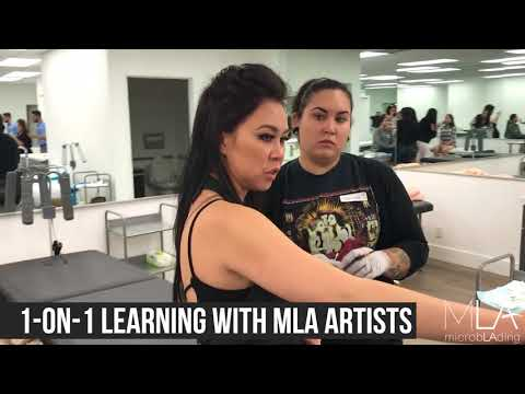 The Microblading LA Academy Experience