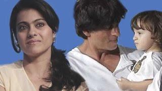 shahrukh khans son abram khan hates kajol dilwale trailer launch