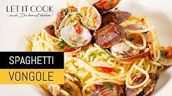 Spaghetti Vongole - Zubereitung und Zutaten