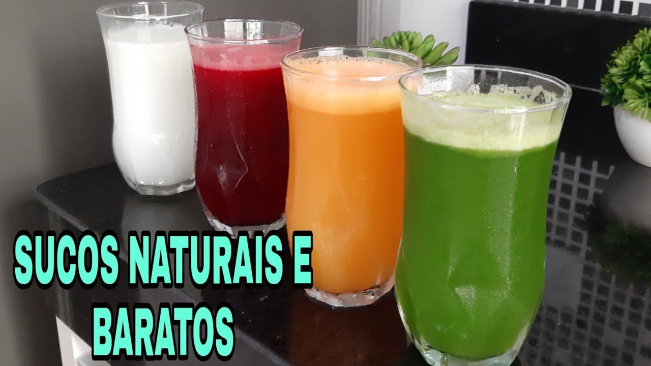 Download 4 SUCOS NATURAIS E BARATOS PARA FAZER EM CASA